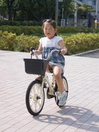 自転車に乗れたよ! - あるこう、あるこう