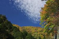 奥多摩の丹波から塩山へ、紅葉写真 - デジカメ写真集