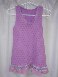 37.ピンクのタンクトップ(2008.12.21) - ★キラキラ手作り子供服