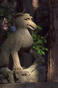 風布釜山神社の狛犬 - デジカメ写真集