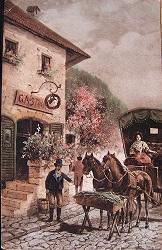 ポストカードクリスマス - スペイン・バルセロナ・アンティーク gyu's shop
