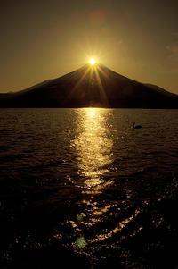 ダイアモンド富士@山中湖 - デジカメ写真集