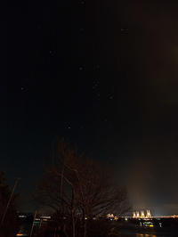 2月6日夜景 - 風まかせ、カメラまかせ