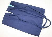 9518回 藍染め刺子長手甲 - 今日の凧人