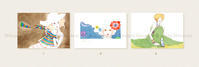 Postcard・Wakana 1枚 ¥220(税込) - Shiratani illustration