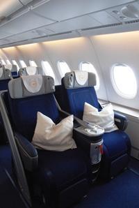 ルフトハンザエアバスA380のビジネスクラス - ハッピー・トラベルデイズ