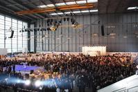 ルフトハンザ エアバスA380専用ハンガーに、2000人!! - ハッピー・トラベルデイズ
