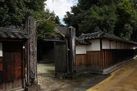 鳥取・若桜宿の町並み - .