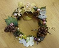 X'masミニリース - meili tender handicraft
