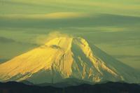 朝焼けの富士山@狭山湖 - デジカメ写真集