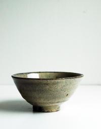 竹本ゆき子陶展〜粉引5寸碗 - きままなクラウディア