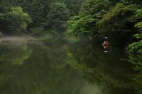 雨上がりの鎌北湖 - デジカメ写真集