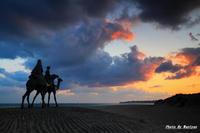 月の砂漠      2012-01-14更新 - 夕陽に魅せられて・・・