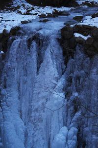 凍った滝@中津川渓谷 - デジカメ写真集