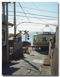 #2510江ノ電の走る街 - at the port