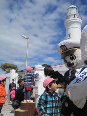 3月14日ホワイトデー犬吠埼灯台前に白い丸型ポストお披露目された日千葉銚子 -