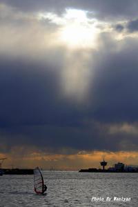 ウインドサーフィン2012-06-02更新 - 夕陽に魅せられて・・・