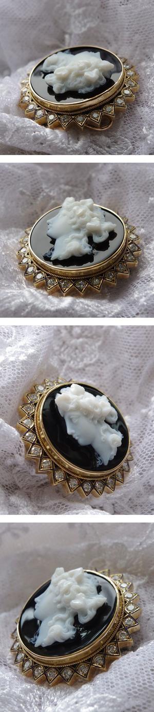 ダイヤモンドカメオ -