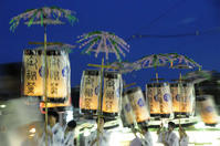祇園祭(神輿洗いと御迎え提灯、舞踊奉納) - あ お そ ら 写 真 社