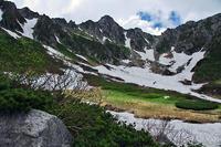 残雪の山 - デジカメ写真集