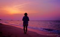 波照間島 西浜の夕焼け - あ お そ ら 写 真 社