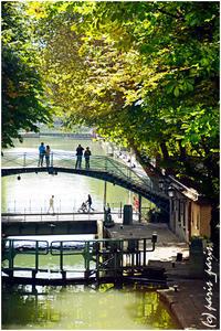 CANAL SAINT-MARTIN 4 - いつものパリ