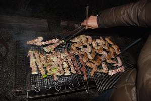2月2日    網焼きとダッチオーブン料理 - たき火料理愛好会