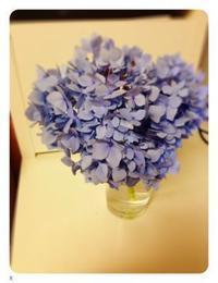 雨の日の紫陽花と中華ごはん - 愛する暮らし。