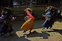 阿寺、諏訪神社の獅子舞 - デジカメ写真集