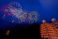 寄居玉淀水天宮祭の花火 - デジカメ写真集