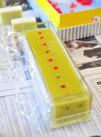 プチ石鹸教室と透明石鹸を使ったモザイク石鹸2014年3月7日(金) - わびさび日記