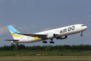 ADO B767-300 帯広定期初就航 - ken5to3 photoblog