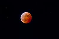 皆既月食と天王星 - デジカメ写真集