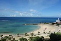 沖縄旅行 - ビーチと夕焼けと帰りのフライト - minaの喜怒哀楽楽日記