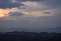 2014年の最後の夕陽荒船山&妙義山 - 楽しいことさがし3