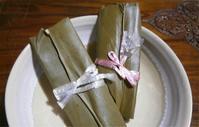 沖縄から手作りムーチーが送られてきました! - 意外に忙しい田舎生活「 陶芸工房Satoh.」より