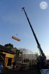 ∵棟上げの朝&構造体感会のご案内 - ふっとコト、カタり。