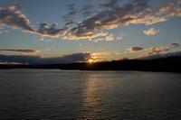 狭山湖の夕暮れ - デジカメ写真集