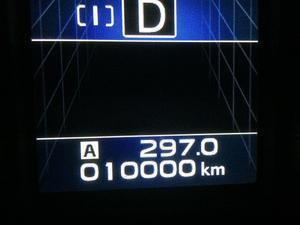 10000km突破 - スバル アウトバックに乗る、車好きサラリーマンの徒然日記