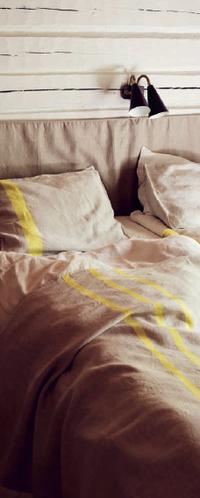 暑い夏の夜に涼しく寝るコツリネンブランケット - ベルギーの小さなおみせ PERIPICCOLI