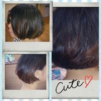 ブラックでもね(*^-^*) - 松江市美容室 hair atelier bonet  大人女性のための美容室 。