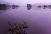 裏磐梯の沼の夜明け - デジカメ写真集