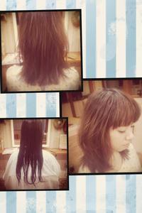 ながーい。ながーい。 - 松江市美容室 hair atelier bonet  大人女性のための美容室 。