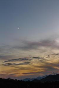 夕暮れ@高麗の里 - デジカメ写真集