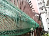 築年数の古い木造アパート鉄骨階段と鉄骨廊下の診断 - 快適!! 奥沢リフォームなび