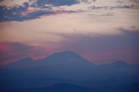 浅間山の夕焼け花の丘から2015 - 楽しいことさがし3