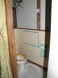 トイレの手すり立って用を足したいとのご要望でした - 快適!! 奥沢リフォームなび