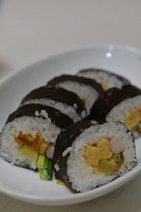 太巻き寿司&イカ里芋 - おいしい日記