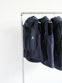 and wanderTwill Fleece Vest / Navy - 『Bumpkins putting on airs』