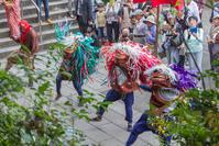 高麗神社の奉納獅子舞 - デジカメ写真集